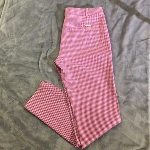 Michael Kors Houndstooth Pants Size 4 Str leg NWOT